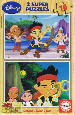 Jake never land pirates, 2x16 brikker (1)