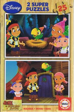 Jake never land pirates, 2x25 brikker (1)