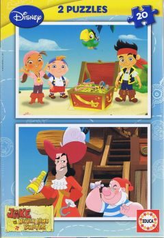 Jake Never Land Pirates, 2x20 brikker (1)