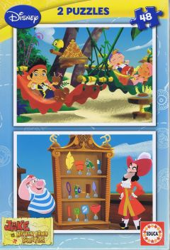 Jake and the Never Land pirates, 2x48 brikker (1)