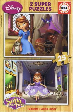 Sofia the First, 2x25 brikker (1)