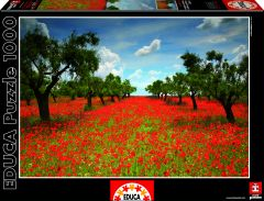 Poppy Field, 1000 brikker (2)