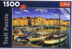 Old Port in Saint-Tropez, 1500 brikker (1)