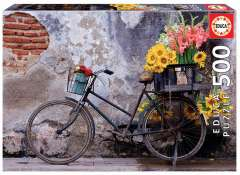 Bicycle with Flowers, 500 brikker (1)