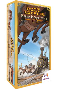 Colt Express: Horses & Stagecoach (1)