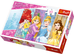 Disney - Fairytale princesses, 30 brikker (1)