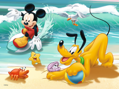 Disney - Mickey and Pluto at the beach, 30 brikker (2)