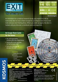 EXIT: The Game - The Secret Lab (3)