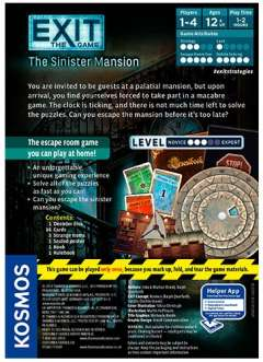 EXIT: The Game - The Sinister Mansion (2)