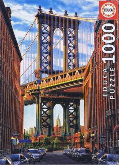 Manhattan Bridge, New York, 1000 brikker (1)