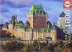 The Chateau Frontenac, Canada, 1000 brikker (1)