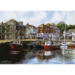 Padstow Harbour, 1000 brikker (1)