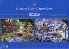 Summer Days & Snowflakes, 2x500 brikker (1)