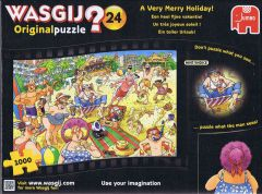 Wasgij? Original #24 A Very Merry Joliday!, 1000 brikker (1)