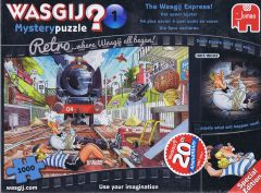 Wasgij? Mystery Retro #1 The Wasgij Express, 1000 brikker (1)