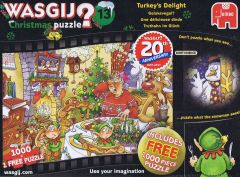 Wasgij? X-mas #13 Turkeys Delight, 1000 brikker (1)