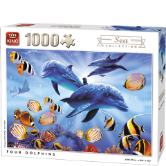 Four Dolphins, 1000 brikker (1)