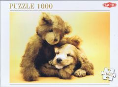 Puppy and a Teddy Bear, 1000 brikker (1)