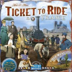 Ticket to Ride: France & The Old West - Map Collection #6 (1)