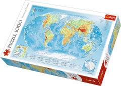 Map of the World, 1000 brikker (1)