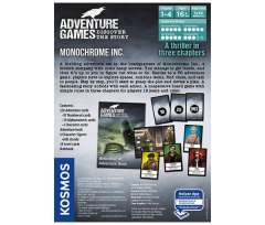Adventure Games: Monochrome Inc. (2)