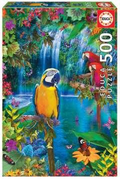 Bird Tropical Land, 500 brikker (1)