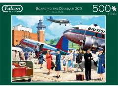Boarding the douglas DC3, 500 Brikker (1)