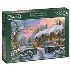 Cottage in Winter, 1000 brikker (1)