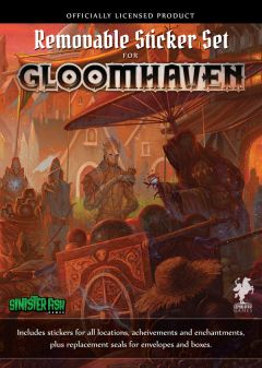 Gloomhaven: Removable Sticker Set (1)