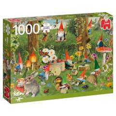 Gnomes at the Forest Edge, 1000 brikker (1)