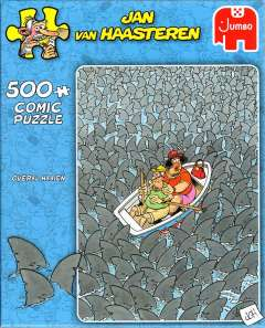 Jan van Haasteren - Total Sharks - 500 brikker (1)