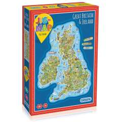 Jigmap - Great Britain & Ireland, 150 XL brikker (1)