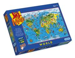 Jigmap - Our World, 250 brikker (1)