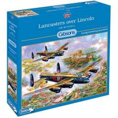 Lancasters over Lincoln, 500 brikker (1)