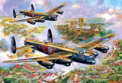 Lancasters over Lincoln, 500 brikker (2)