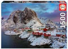 Lofoten Islands - Norway, 1500 brikker (1)