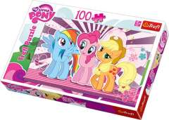My Little Pony - Pony friends, 100 brikker (1)
