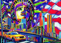 Colours of New York, 1000 brikker (2)