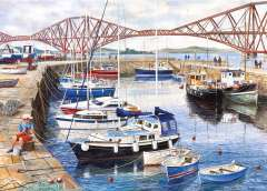 Queensferry Harbour, 1000 brikker (2)