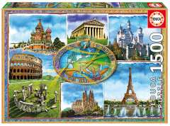 Seven Wonders of Europe, 1500 brikker (1)