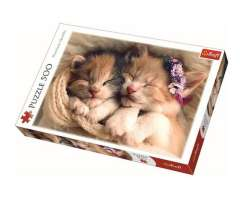 Sleeping kittens, 500 brikker (1)