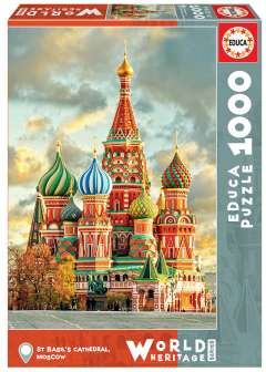 St Basil's Cathedral - Moscow, 1000 brikker (1)