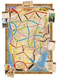 Ticket To Ride: Heart of Africa - Map Collection #3 (2)