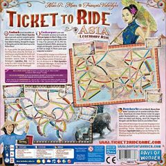 Ticket To Ride: Team Asia og Legendary Asia - Map Collection #1 (2)