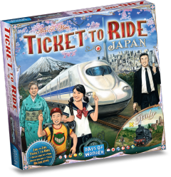 Ticket To Ride: Japan & Italy - Map Collection #7 (1)