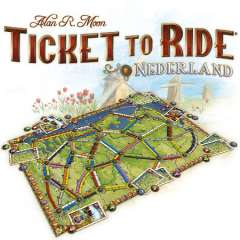 Ticket To Ride: Nederland - Map Collection #4 (2)