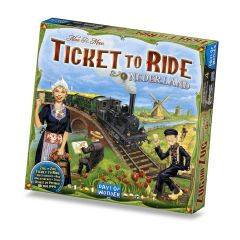 Ticket To Ride: Nederland - Map Collection #4 (1)
