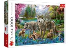 Family of Wolves - 1000 Brikker (1)