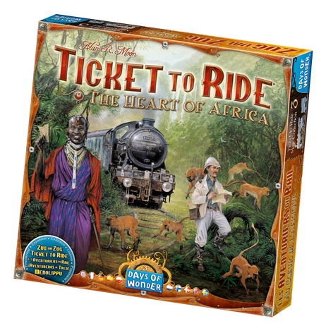 Image of   Ticket To Ride: Heart of Africa - Map Collection #3