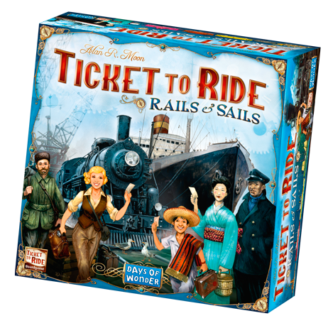 Image of   Ticket To Ride Rails & Sails